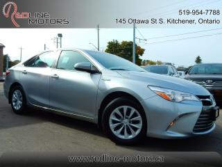 Used 2017 Toyota Camry LE Hybrid.Camera.One Owner.Toyota Warranty for sale in Kitchener, ON