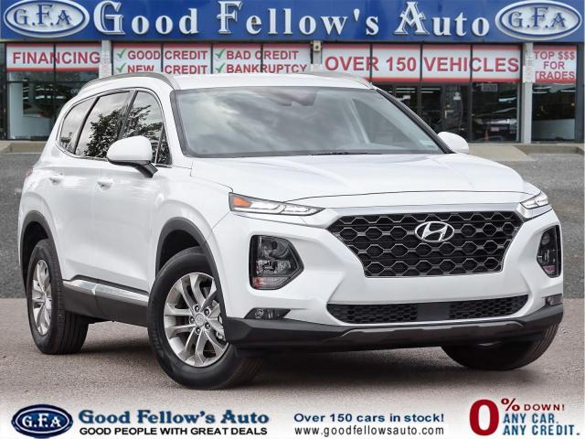 2019 Hyundai Santa Fe ESSENTIAL WITH SAFETY PACKAGE, RAERVIEW CAMERA,AWD