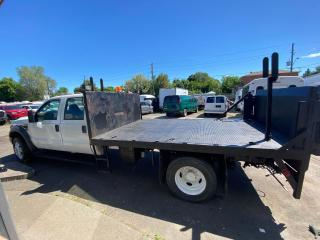 Used 2009 Ford F-550 flat bad 4 door 4x4 diesel for sale in North York, ON