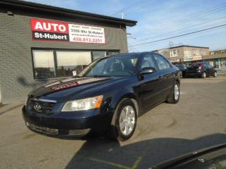 Used 2007 Hyundai Sonata GL**122 000KM** for sale in St-Hubert, QC