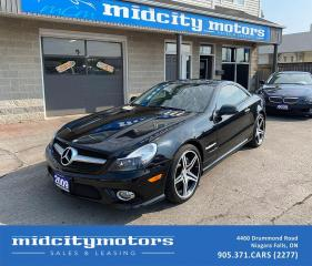 Used 2009 Mercedes-Benz SL-Class SL 550 CONVERTIBLE/ LOADED/ LOW KMs/ CLEAN CARFAX for sale in Niagara Falls, ON