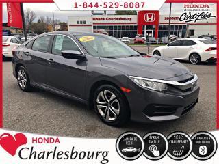 Used 2016 Honda Civic LX BANCS CHAUFFANT**24 212 KM** for sale in Charlesbourg, QC