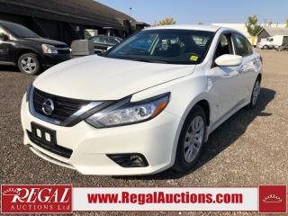 Used 2017 Nissan Altima Base 4D Sedan 2.5L for sale in Calgary, AB