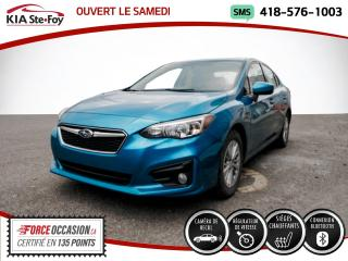 Used 2017 Subaru Impreza * TOURISME* SIEGES CHAUFFANTS* CAMERA* B for sale in Québec, QC