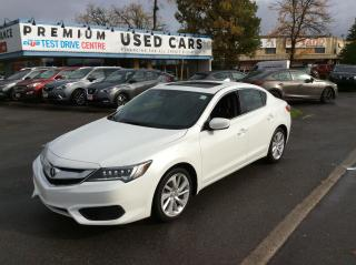 Used 2017 Acura ILX TECH PACKAGE - LEATHER - SUNROOF - NAVIGATION! for sale in Ottawa, ON