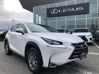 Used 2017 Lexus NX 200t 6A / NO Accidents, ONE Owner, Local for sale in North Vancouver, BC