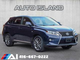 Used 2013 Lexus RX 350 F SPORT**NAVIGATION**ALLOYS for sale in North York, ON
