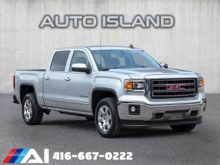 Used 2015 GMC Sierra 1500 CREW CAB**4X4**NAVIGATION**LEATHER for sale in North York, ON