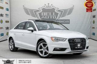 Used 2016 Audi A3 2.0T Komfort, NO ACCIDENTS, AWD, SUNROOF, PARK ASST, ALLOY for sale in Toronto, ON