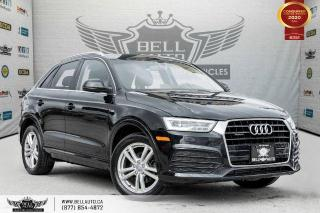 Used 2016 Audi Q3 Technik, AWD, NO ACCIDENTS, S-LINE, NAVI, REAR CAM, SENSORS for sale in Toronto, ON