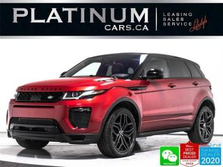 Used 2017 Land Rover Evoque HSE Dynamic, AWD, NAV, PANO, CAM, MERIDIAN, HEATED for sale in Toronto, ON