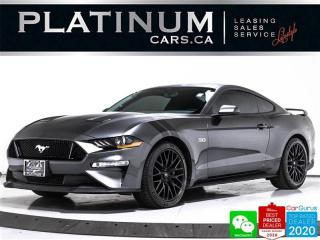 Used 2018 Ford Mustang GT, 460HP, PERFORMANCE PKG, MANUAL, CAM, BLUETOOTH for sale in Toronto, ON