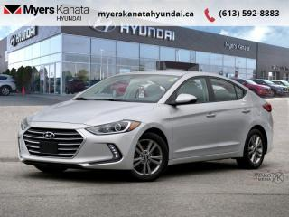 Used 2018 Hyundai Elantra GL  - $104 B/W for sale in Kanata, ON