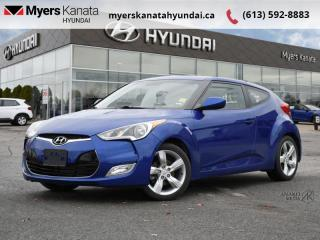Used 2013 Hyundai Veloster 3DR CPE AUTO  - $70 B/W for sale in Kanata, ON