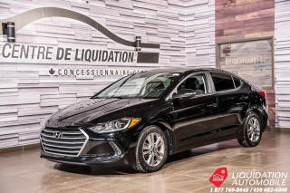 Used 2017 Hyundai Elantra GL+AIR+CAM/RECUL+SIEGE/CHAUFF+GR ELECT for sale in Laval, QC