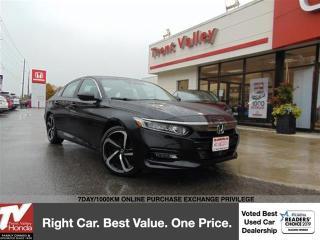 Used 2018 Honda Accord Sedan Sport (1) Owner Manual Transmission for sale in Peterborough, ON