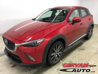 Used 2017 Mazda CX-3 GT GPS AWD MAGS CUIR TOIT for sale in Trois-Rivières, QC