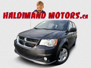 Used 2018 Dodge Grand Caravan Crew 2WD for sale in Cayuga, ON