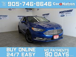 Used 2018 Ford Fusion SE | LEATHER | NAV | ONLY 9 KM! | ONE OWNER for sale in Brantford, ON