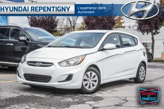 Used 2017 Hyundai Accent 5 PORTES LE**A/C, DÉMARREUR** for sale in Repentigny, QC