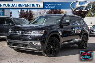 Used 2019 Volkswagen Atlas Highline 3.6L 7 PLACES*MAGS 20'' NOIR, NAVI, CUIR* for sale in Repentigny, QC