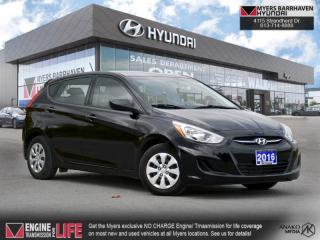 Used 2016 Hyundai Accent GL  - Bluetooth -  Heated Seats - $84 B/W for sale in Nepean, ON