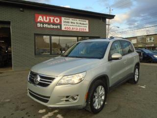 Used 2010 Volkswagen Tiguan COMFORTLINE 4Motion for sale in St-Hubert, QC