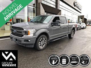 Used 2018 Ford F-150 SPORT EcoBoost 4X4 CREW CAB ** GARANTIE 10 ANS ** Pour les loisirs ou les travaux, ce F-150 est le camion qu'il vous faut! for sale in Shawinigan, QC