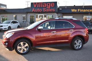 Used 2012 Chevrolet Equinox 2LT SUNROOF! BACK UP CAMERA! LEATHER SEATS! for sale in Saskatoon, SK