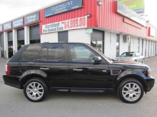 Used 2009 Land Rover Range Rover Sport HSE $12,995+HST+LIC FEE / CERTIFIED / ALL WHEEL DRIVE for sale in North York, ON