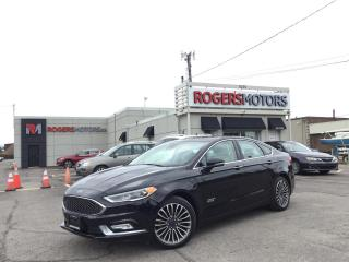Used 2017 Ford Fusion Energi 2.99% Financing - PLATINUM - NAVI - SUNROOF - LEATHER for sale in Oakville, ON