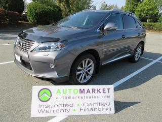 Used 2015 Lexus RX 350 NAVI, AWD, LIKE NEW, INSPECTED, WARR, FINANCING for sale in Surrey, BC