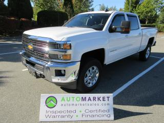 Used 2015 Chevrolet Express 2500 HD LT, CREW, 2500HD, 6.0, INSPECTED, BCAA MBSHP, WARRANTY, FINANCING! for sale in Surrey, BC