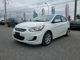 Used 2012 Hyundai Accent ECONOMIQUE, FIABILITE, A BAS PRIX !! for sale in Gatineau, QC