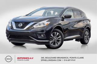 Used 2017 Nissan Murano SL AWD NAVIGATION / TOIT PANORAMIQUE / MAGS 18