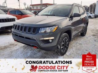 New 2021 Jeep Compass Trailhawk for sale in Saskatoon, SK