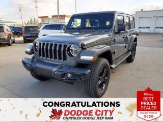 New 2021 Jeep Wrangler UNLIMITED ALTITUDE for sale in Saskatoon, SK