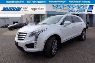 Used 2017 Cadillac XT5 *Heated and Cooled Leather* Heated Steering*Remote for sale in Brandon, MB