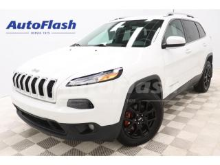 Used 2017 Jeep Cherokee NORTH V6 3.2L *4X4 *MAGS *BLUETOOTH *CRUISE for sale in St-Hubert, QC