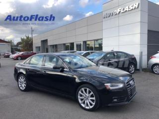 Used 2014 Audi A4 4dr Sdn Auto Komfort quattro for sale in St-Hubert, QC