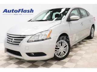 Used 2014 Nissan Sentra SL *CUIR/LEATHER *CAMERA *GPS *TOIT-OUVRANT for sale in St-Hubert, QC