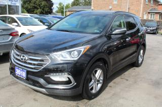 Used 2018 Hyundai Santa Fe Sport Luxury Leather Pano Roof for sale in Brampton, ON
