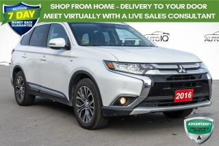 Used 2016 Mitsubishi Outlander GT AWD LEATHER INTERIOR for sale in Innisfil, ON