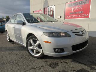 Used 2007 Mazda MAZDA6 SPORT V6 AUTO TOIT MAGS A/C AILERON for sale in St-Jérôme, QC