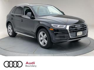 Used 2020 Audi Q5 45 2.0T Technik quattro 7sp S Tronic for sale in Burnaby, BC