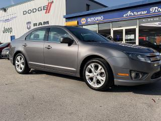 Used 2012 Ford Fusion SE for sale in Aylmer, ON