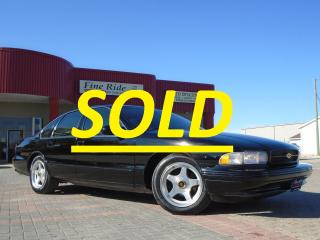 Used 1996 Chevrolet Impala SS **SOLD** for sale in West Saint Paul, MB