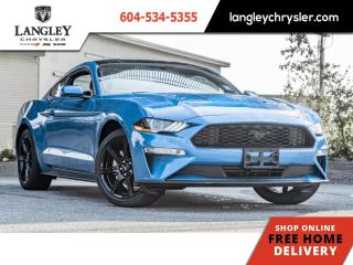Used 2020 Ford Mustang EcoBoost Fastback  Leather / Navi / Backup / Single Owner for sale in Surrey, BC