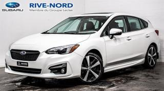 Used 2017 Subaru Impreza Sport-Tech EyeSight NAVI+CUIR+TOIT.OUVRANT for sale in Boisbriand, QC