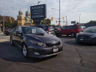 Used 2015 Kia Optima LX for sale in Windsor, ON